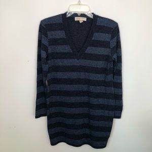 Michael Kors Sweater Dress Size Large Striped